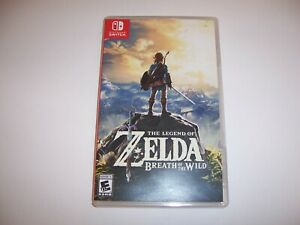 Replacement Case for Zelda Breath of the Wild Nintendo Switch Box Authentic
