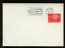 Svizzera 1961 settimana Chiasso copertura # 321