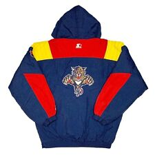 Vtg Rare NHL Florida Panthers Starter Puffer Jacket. Mens XL