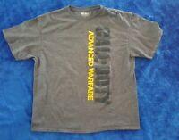 CALL OF DUTY ADVANCED WARFARE T-Shirt XL Grey Activision Video Game Apparel