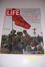 1967 LIFE Magazine PEKING Tien An Men Square CHINA No Label RED GUARDS Ma SITSON