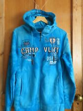 Violento Mens XL Hoodie Sports Streetwear Mottled Badge BNWT gift