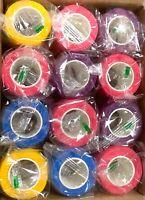 Waterproof Vet Horse Self-Adhesive Cohesive Wrap Bandage Tape 4 inch Gauze 12 pc