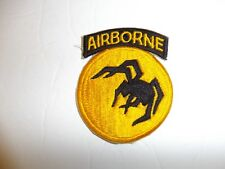 b3310 WW2 US Army Airborne 135th Division Ghost Phantom Operation Fortitude R3E