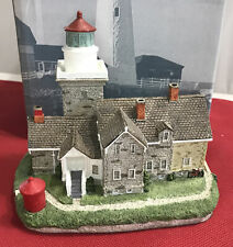 Harbour Lights #414 ~ 30 Mile Point New York Lighthouse (Signed) 1995 - In Box