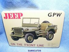 Jeep GPW Car Vehicle Garage Advertising Magnet NEW Classic Car