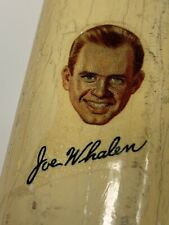 Vintage Cortland American Driver Joe Whalen Photodecal And Autograph, 1941