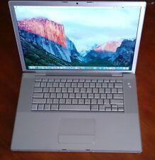 """MacBook Pro A1260 15.4"""" 2gb 160gb HDD El Capitan+MS Office 2011+GarageBand+IWork"""
