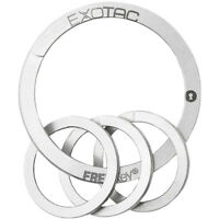 Exotac FREEKey Slim System Easy to Use Key Ring and Three Mini Key Rings