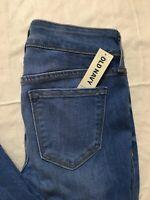 Old Navy Rockstar Super Skinny Jeans Size 4 Petite Mid Rise Light Wash Stretch