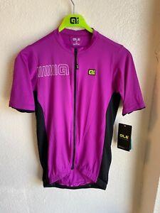 Alé Cycling Solid Color Block Jersey - Violet - Men's Medium