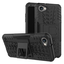 custodia cover case Per LG Q6 con appoggio TPU + 1 PELLICOLA