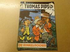 STRIP / THOMAS PIPS 17: DE RINKELROOIER   1ste druk