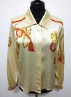 ESCADA by MARGARETHA LEY Camicia Donna Seta Blusa Silk Woman Shirt Sz.S - 42