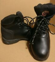Braham Women's working Boots Size 8.5 Leather Upper, Still toe,Slip Oil Resistan