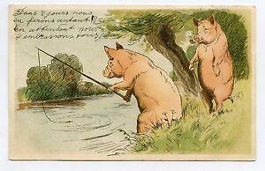 The Pigs Fishermen. Fishermen's Pigs