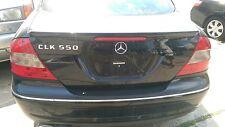 Mercedes Benz 2009 CLK550 CLK 500 AMG sport trunk rear bumper tail lights