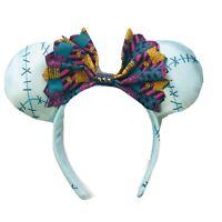 Disney Parks Adult Tim Burton Nightmare Before Christmas Sally Ears Headband O/S