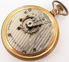 `SCARCE 1905 ILLINOIS 18S 17J POCKET WATCH. A FIXER. ONLY 18,906 MADE !!