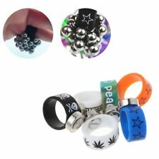 Slingshot Ring Magnetic Absorb Steel Beads Ball Latex Magnet Rings Elastic 5mm