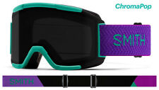 Smith Optics Squad Jade Block ASIAN FIT CPS Black Lens Ski Goggles 2020