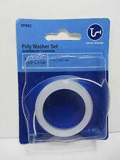 """PLUMB PAK (1-1/2"""" x 1-1/2"""" or 1-1/4"""") POLY WASHER SET Tubular Drainage PP965 NEW"""