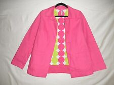 Old Navy Retro 60s Style Pink Spring/Fall Jacket Coat Small S Water Resistant