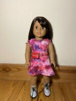 "American Girl Doll Luciana Vega 18"" 2018 Girl of the Year"