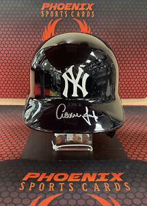 AARON JUDGE Signed Autograph Full Size NY YANKEES Batting Helmet FANATICS Auto