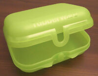 Tupperware Kleine Twindose Twinbox Twin Dose Box Brotdose Hellgrün Grün Neu OVP