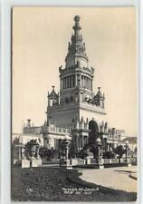 RPPC TOWER OF JEWELS San Francisco PPIE 1915 Expo NOKO Vintage Photo Postcard