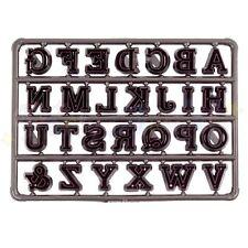 Patchwork cutters- Alphabet Capitals Easy-Twist Upper Case Sugarcraft Cutter