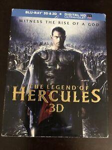 The Legend of Hercules (Blu-ray Disc, 2014, 3D No Digital Copy)