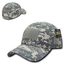 Uni Digital ACU Camo Tactical Ripstop Army Operator Contractor Low Crown Cap Hat