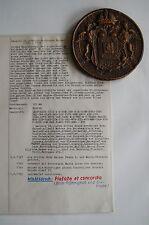 * Leopold II, Römisch-Deutscher Kaiser 1790 – 1792; TOP-SIEGELABGUSS in Bronze *