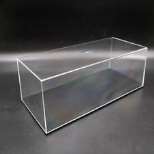 Acrylic Case Model Car Display Box Show Transparent Dust Proof 1/24 29cm Clear