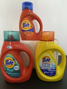 Tide liquid laundry detergent Pack Of 3