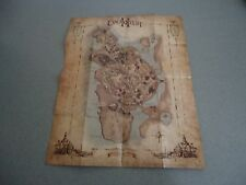 Everquest II Double Sided Folded Map   EQ2