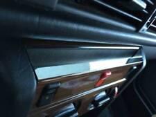 D MERCEDES w124 CROMO MASCHERINA per console sopra-in acciaio inox lucidato