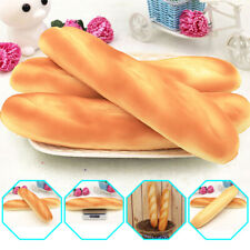 Artificial Fake French Baguette Bread Kitchen Festival Props for Kid Toy PU Foam