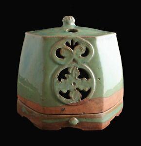 Korean Celadon Incense Burner Koro rare antique