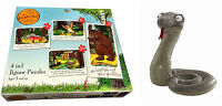 Gruffalo Character Branded Soft Toys With Jigsaw Puzzle Fox Squirrel Snake Owl