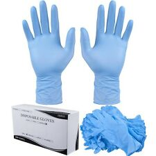 1000PCS Medium Size Nitrile Disposable Gloves Powder Free Non Latex Vinyl Exam