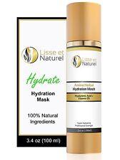 Lisse et Naturel Hydration Facial Mask, 100% Natural 72% Organic