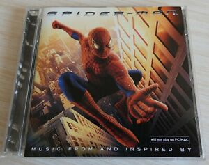 CD BOF SPIDER-MAN MUSIQUE DE FILM 19 TITRES 2002 MUSIC FROM AND INSPIRED