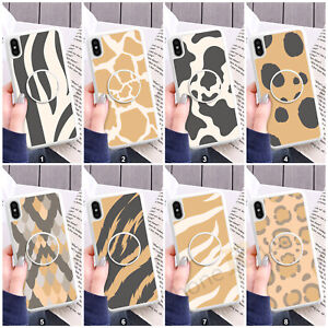 Animal Print Phone Case Cover And Text Holder For Samsung Models 101