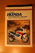 Cylmers M439 Honda Hurricane CBR600 1987-1989 Shop Manual