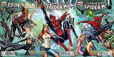 AMAZING SPIDERMAN 1 1.1 SUPERIOR 31 MIDTOWN CAMPBELL COLOR VARIANT CONNECT SET