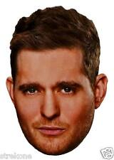 MICHAEL BUBLE Pop Star Promotional Shot - Full Head WINDOW CLING Decal Sticker