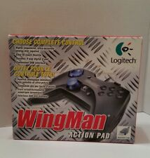 NEW!! Logitech Wingman Action Pad - Wired USB PC Gamepad Controller